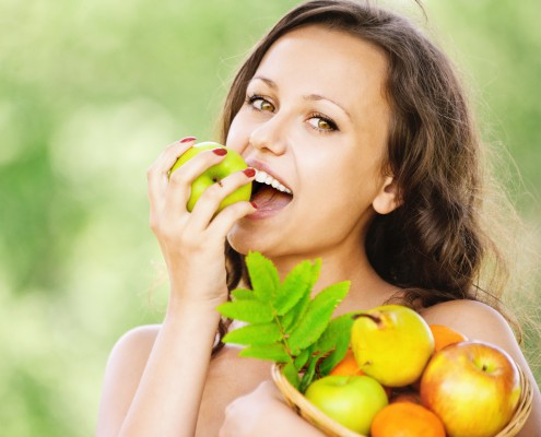 Mit der richtigen ernErnährung bleiben Zähne gesund